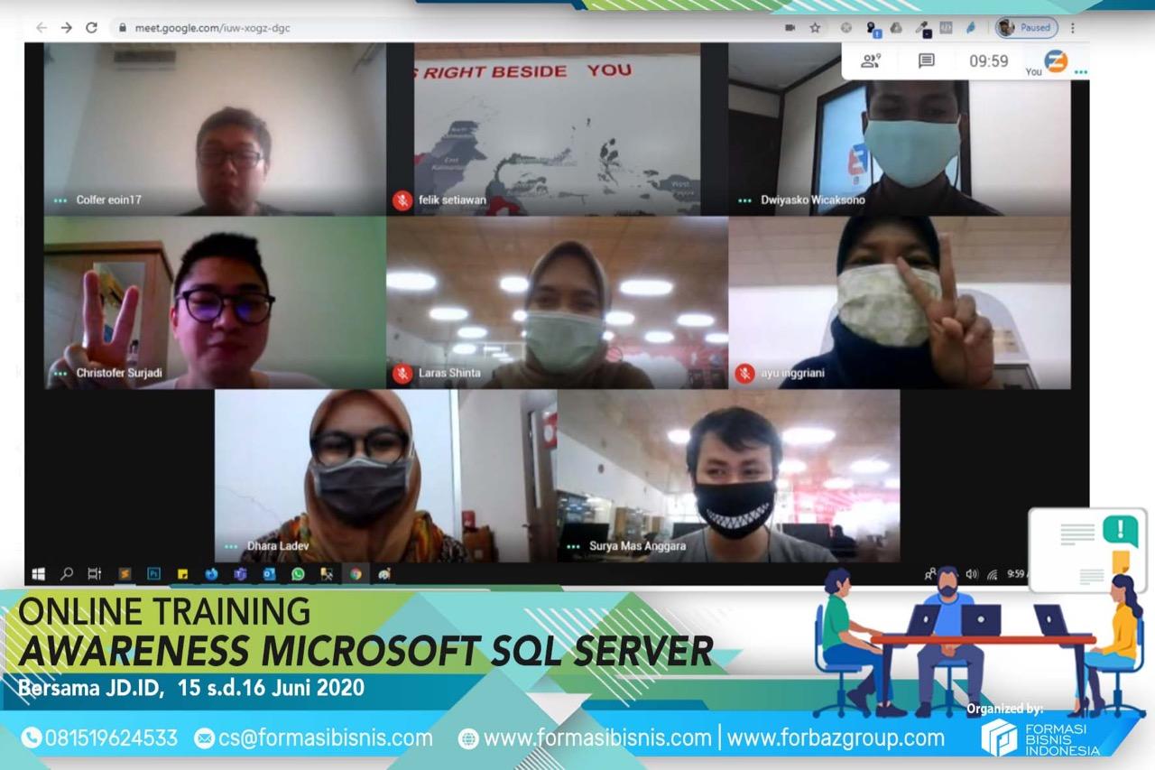 Online Awareness SQL Server JDID 15-16 Juni 2020