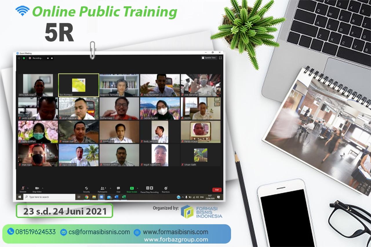 Online Training 5R, 23 - 24 Juni 2021