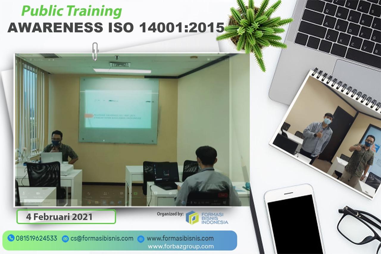 Public Training Awareness ISO 14001 2015, 4 Februari 2021