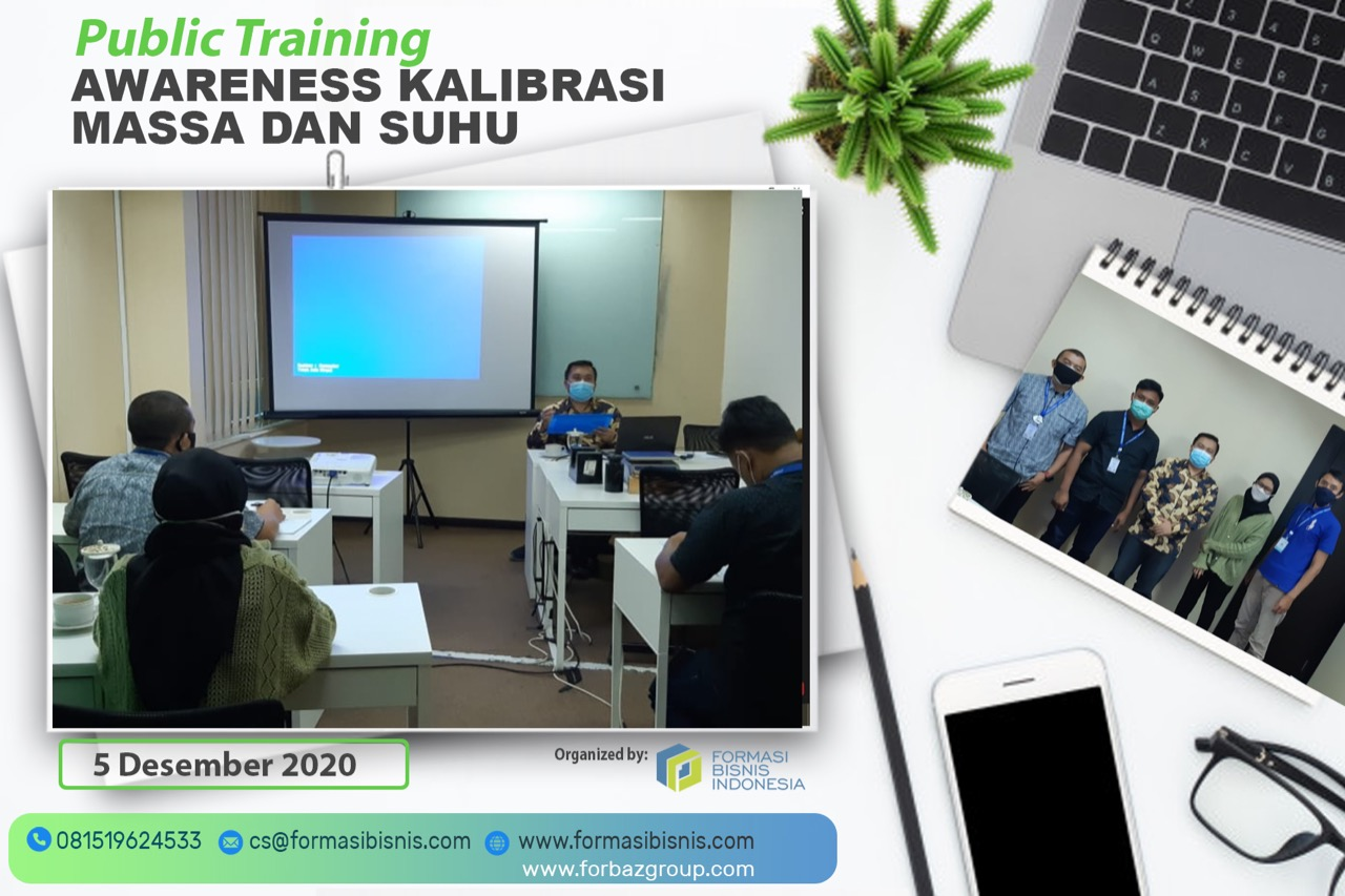 Public Training Awareness Kalibrasi Massa dan Suhu, 5 Desember 2020