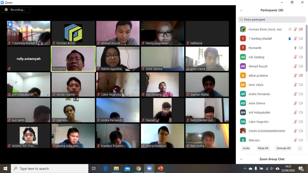 Online Awareness SMK3 PT PALYJA 22 April 2020