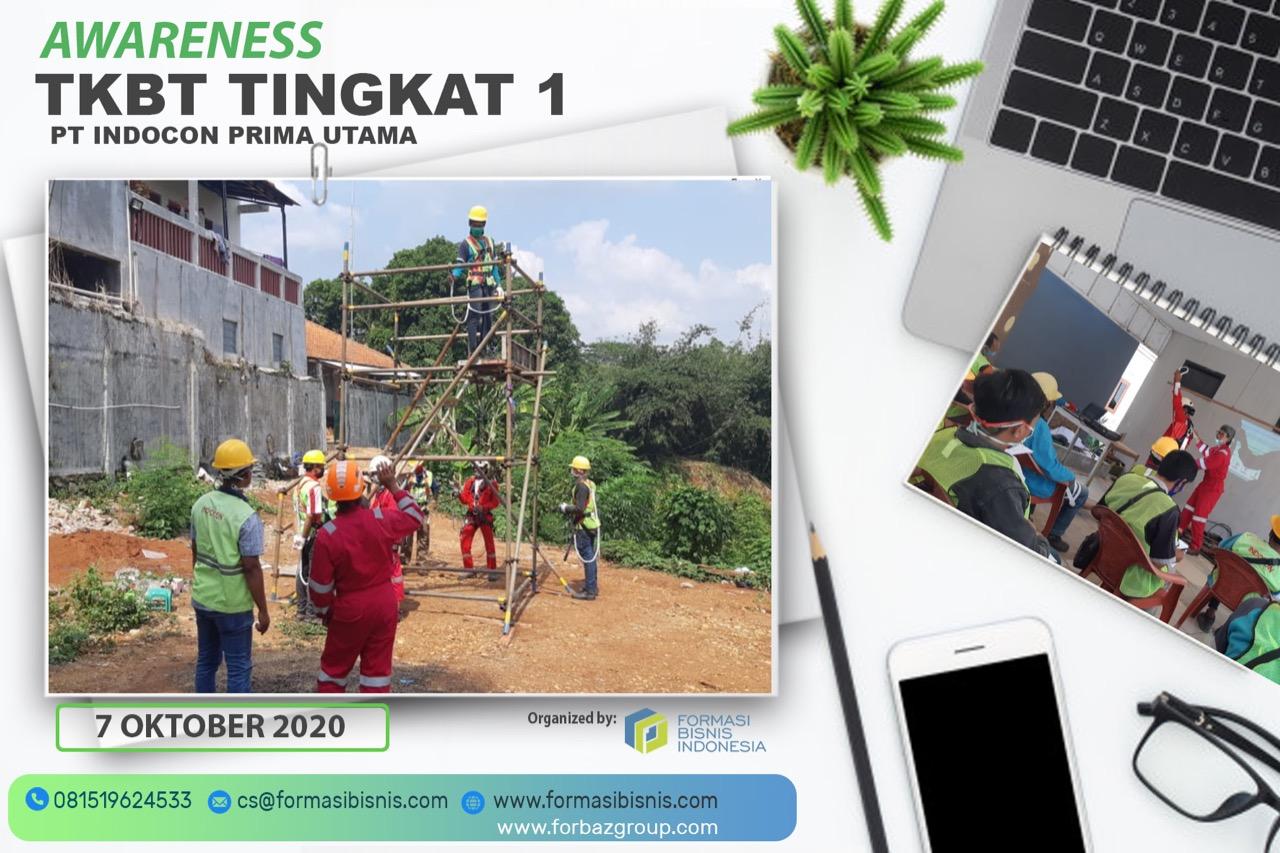 Inhouse Training Working at Height PT Indocon Prima Utama
