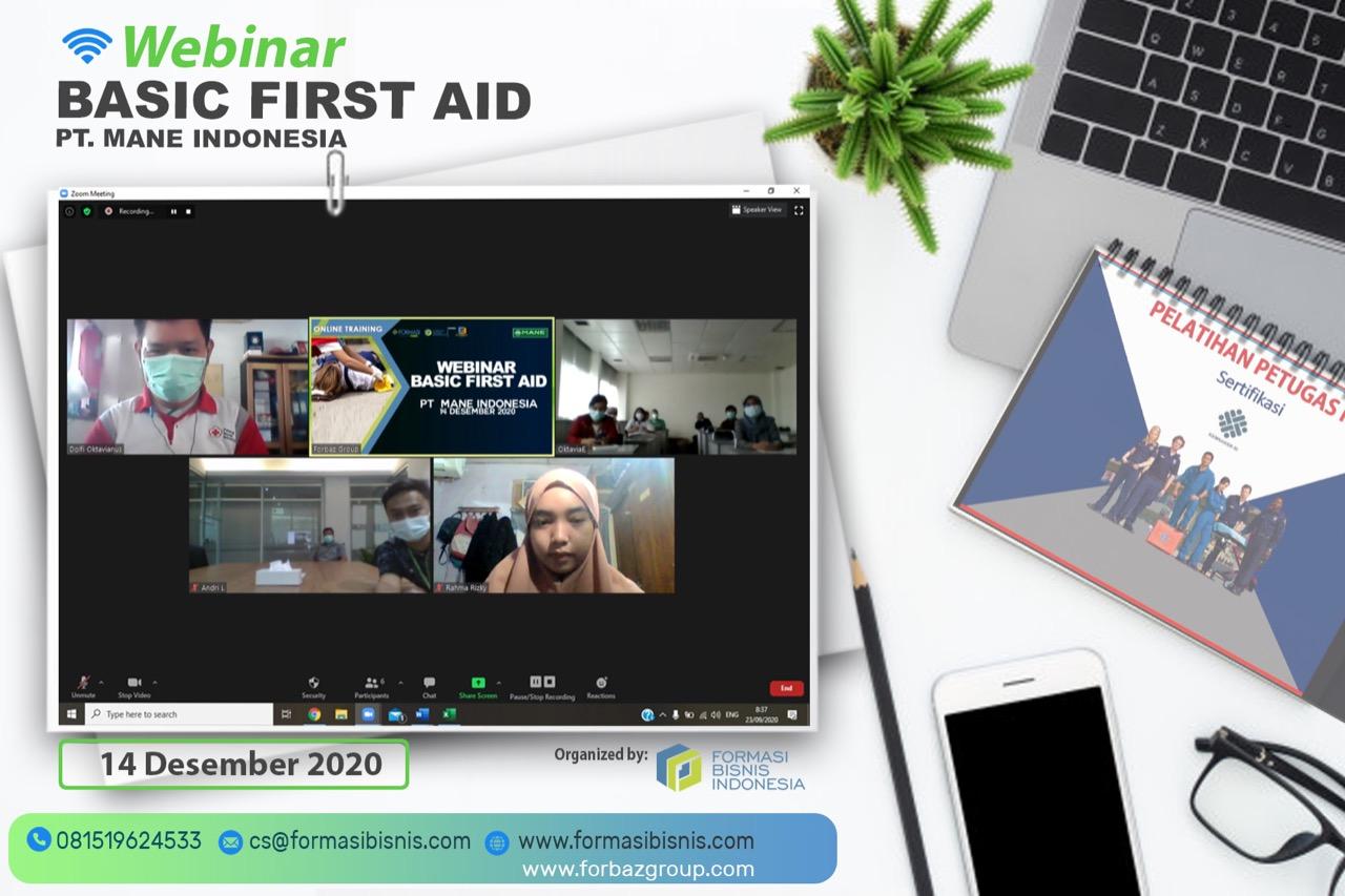 Webinar Basic First Ais PT. Mane Indonesia, 14 Des 2020