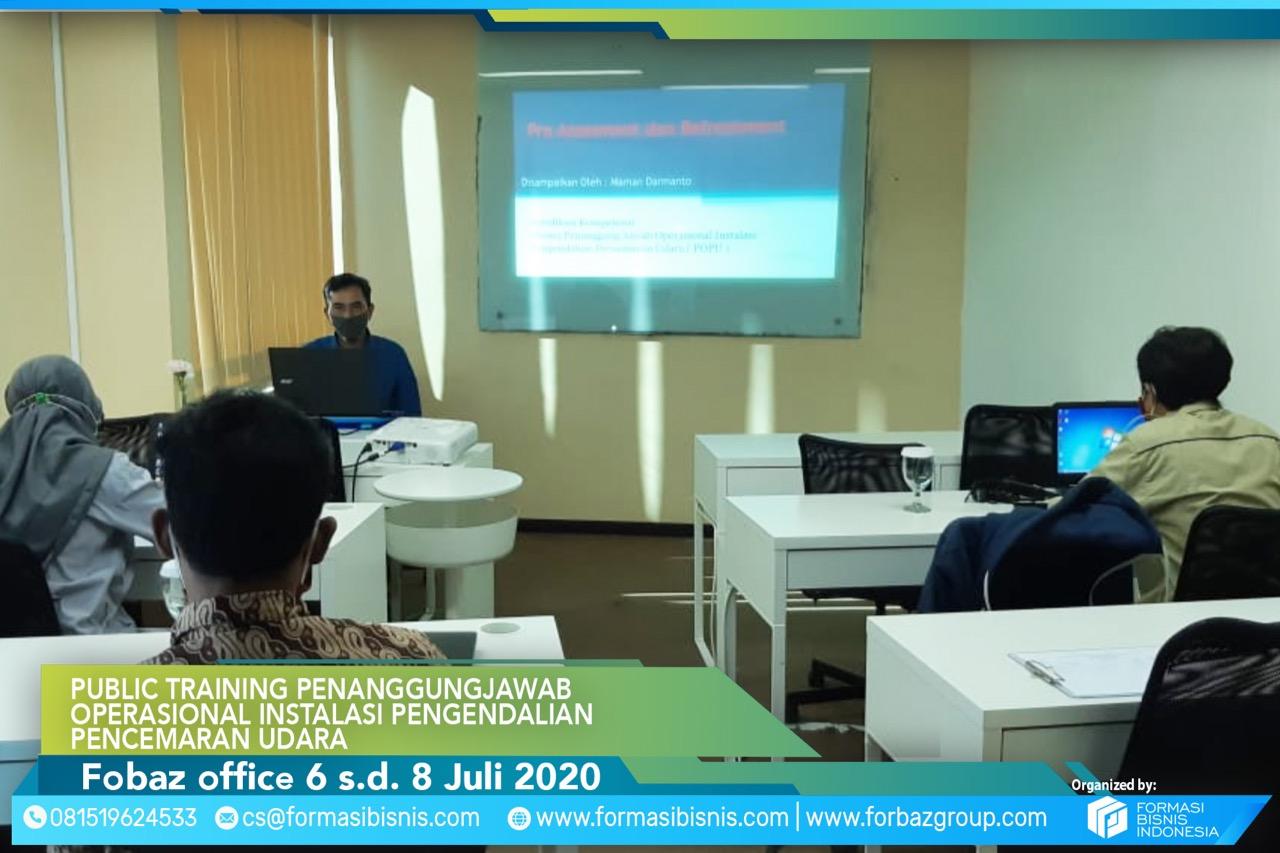Online Training Pengendalian Pencemaran Udara Level Manager 6-8 Juli 2020