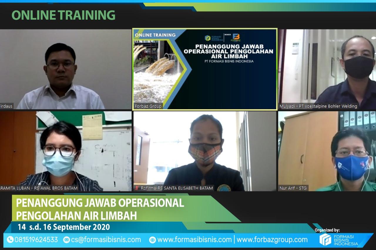 Online Training POPAL BNSP 14 s.d. 16 September 2020