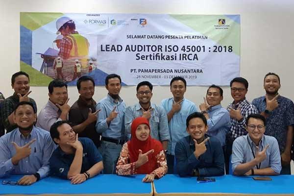 Lead Auditor ISO 45001:2018 IRCA Pamapersada